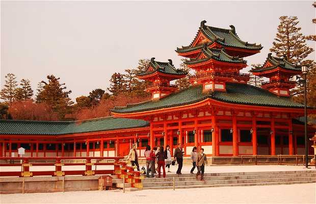 Heian Jingu a Kyoto