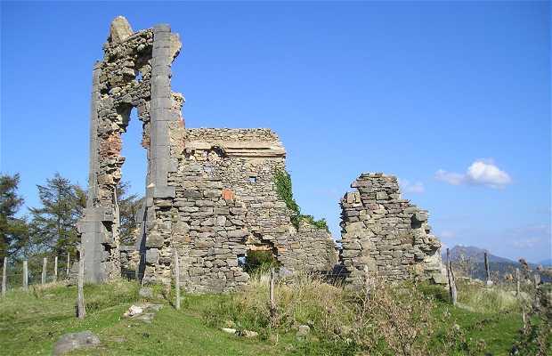 Vista desde las ruinas del fuerte de Pagogaña