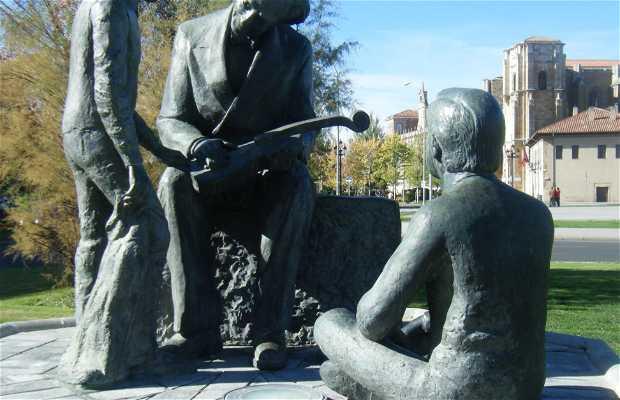 Escultura a Odon Alonso