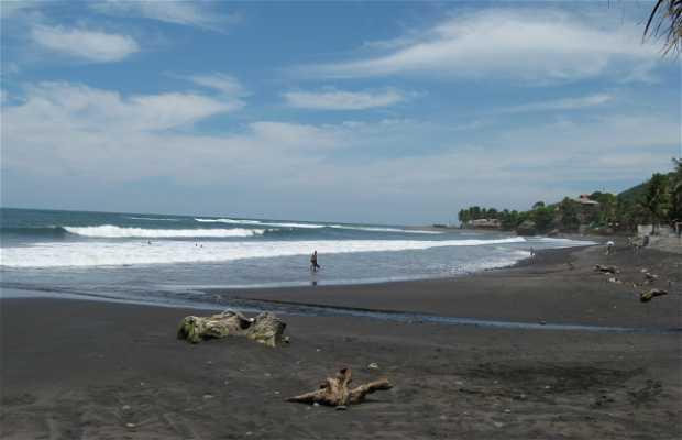 Playa El Tunco (El Salvador, depto la Libertad)