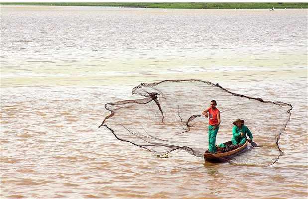 Pesca en Ciénaga San Silvestre