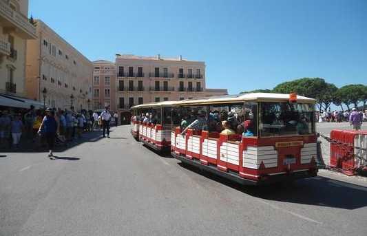 Le petit train de Monaco