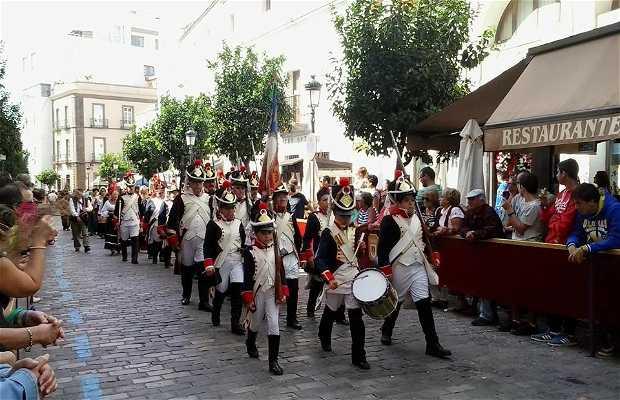 Recreación Histórica del Sitio de Tarifa
