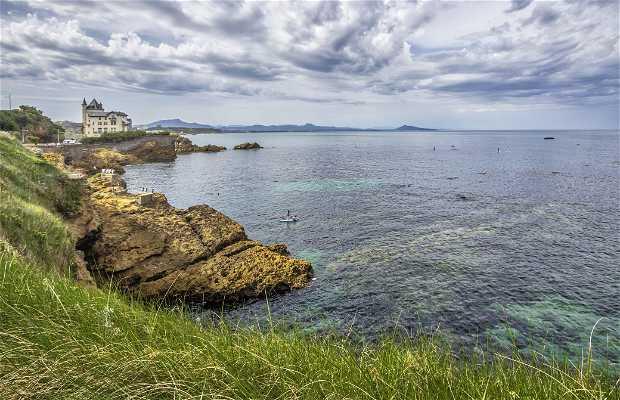 Chemin côtier de Biarritz