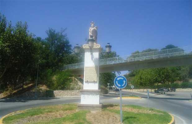 Monumento al arcángel San Miguel