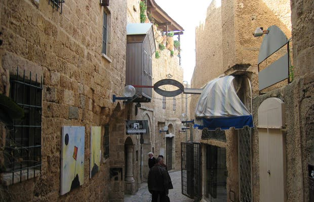 Old city of Jaffa