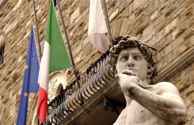 David de la Piazza della Signoria