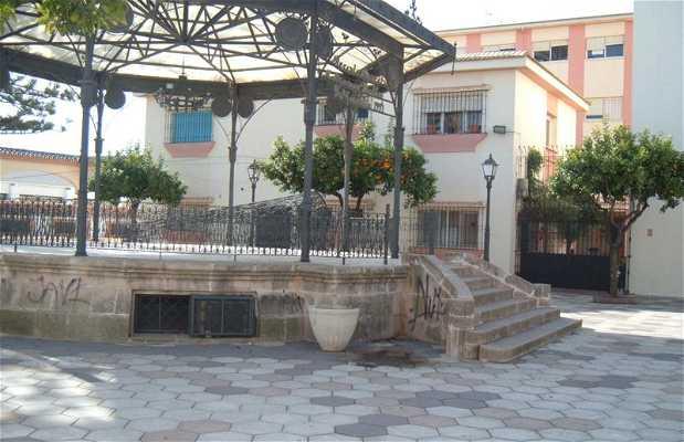 The clock square