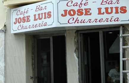 Café-Churreria José Luis