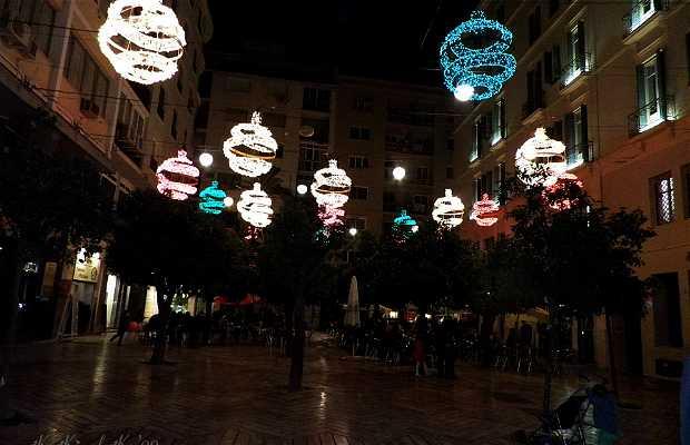 Percorso della luce a Malaga
