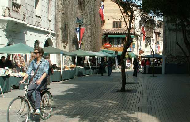 Feria antiguedades Lastarria