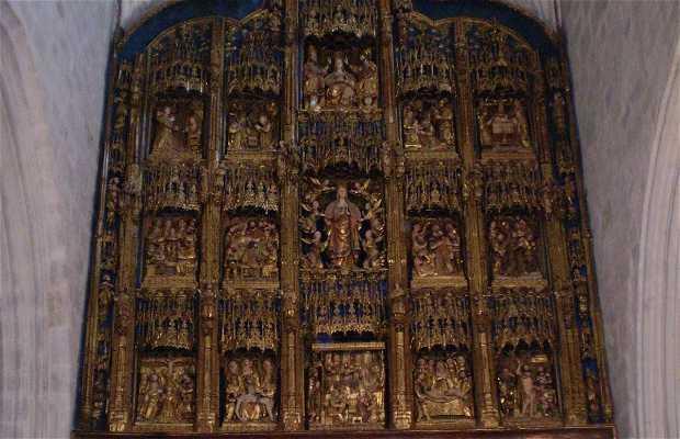 Retablo mayor de Santa María de Gumiel de Izán