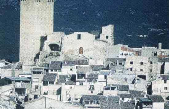 Castle in Benizar