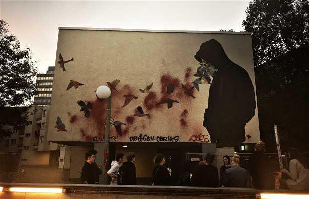 Mural de Don John en Berlín