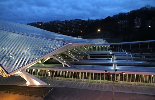Liège Guillemins Railway Station