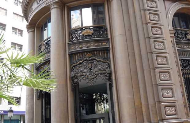 Building of the Banco de Valencia