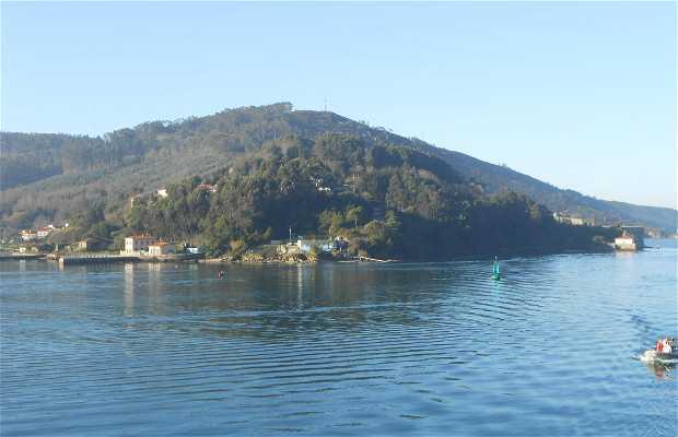 Navegando por la ría de Ferrol