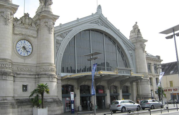 Train station of Tours