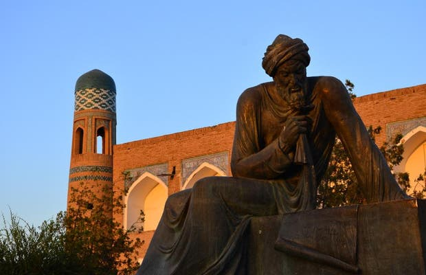 Statua di Al Khorezmi