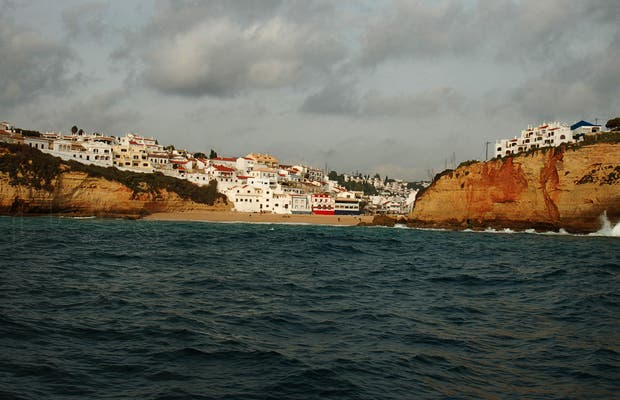 Sea voyage from Portimao to Carvoeiro