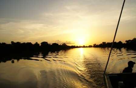 Il fiume Gambia