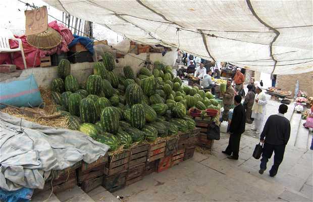 Puestos de fruta de Tetuán