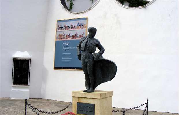 Estatua de Cayetano Ordoñez (El Niño de la Palma)