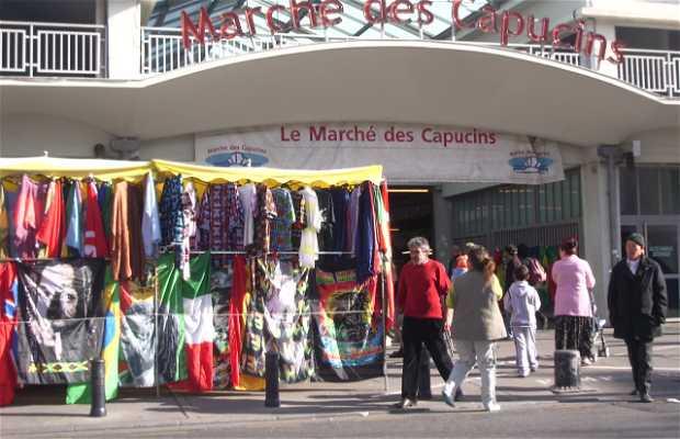 Il mercato dei Cappuccini di Bordeaux