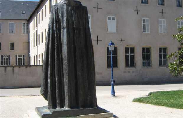 La statue de Hubert Lyautey