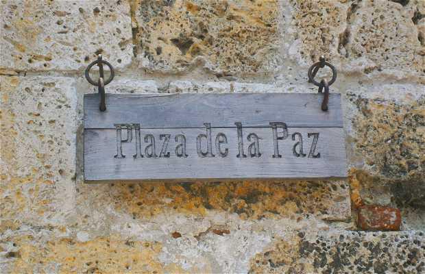 Plaza de la Paz, Cartagena de Indias. Colombia