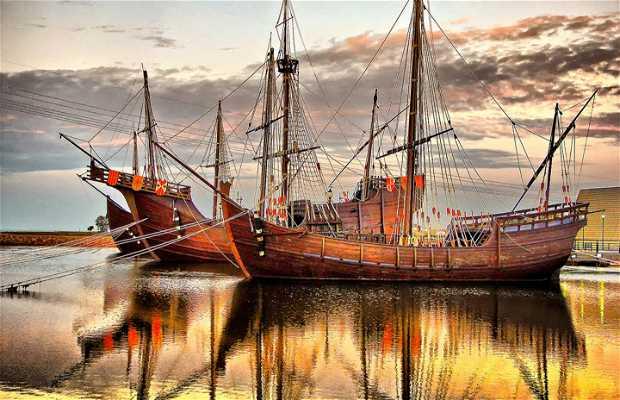 Il Molo delle Caravelle di Palos de la Frontera