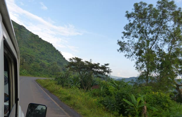 Carretera Addis Abeba - Jima