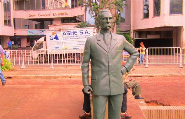 Estatua Jorge Isaacs