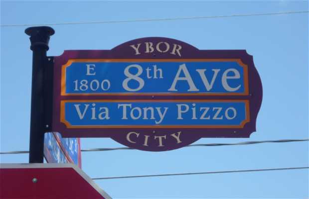 La 8th avenue d'Ybor City