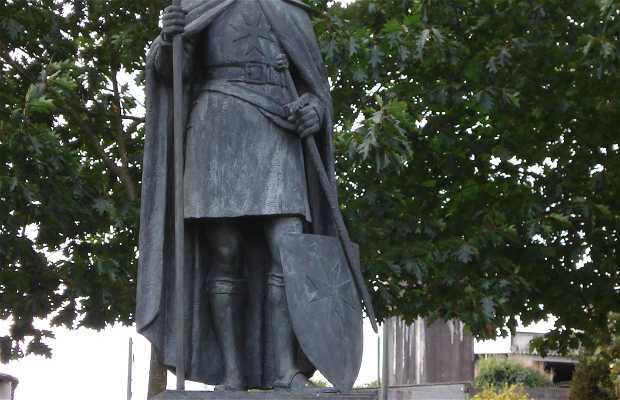 """Estatua """"El Templario Peregrino"""""""