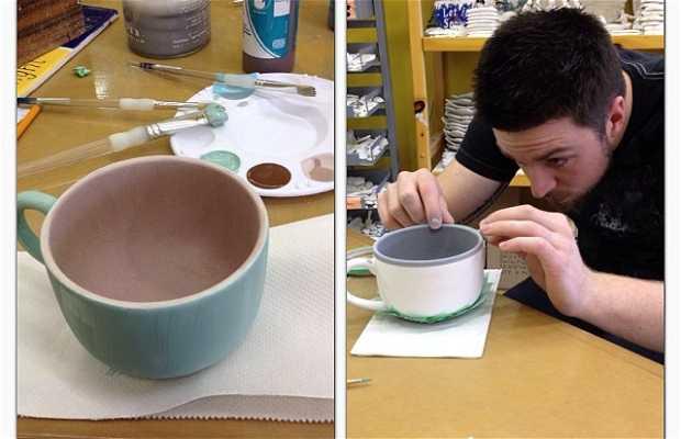 Estúdio de Pintura em Cerâmica de Clayground