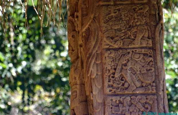 Rovine di Quiriguá a Los Amates