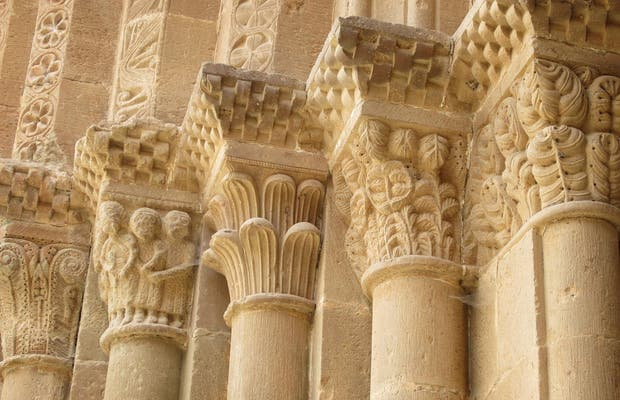 Portada de la Iglesia del Monasterio de Veruela