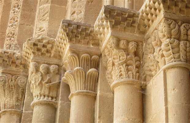 Portail de l'église du Monastère de Veruela