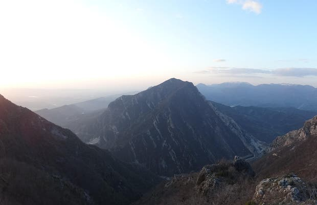 Mount Dajiti, Tirana