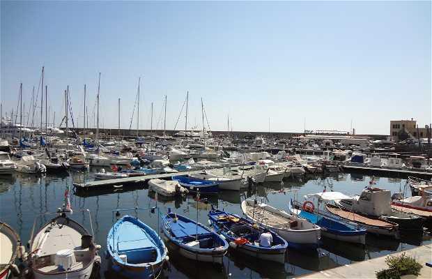 Le port de San Remo