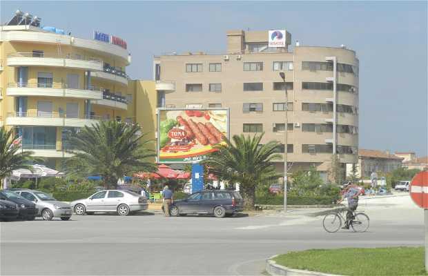 Centro de ciudad de Vlorë