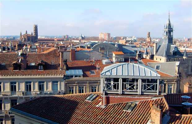 Terrazas de las Galerías Lafayette