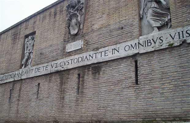 Muralla del Vaticano