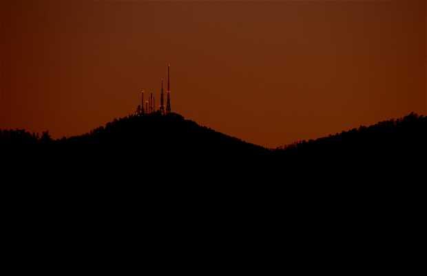 Mountains next to the ria of Pontevedra