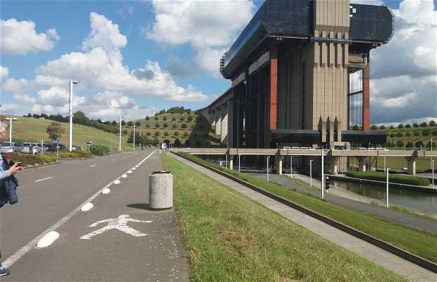 Ascenseur Funiculaire De Strepy-Thieu