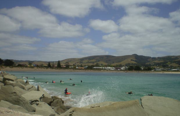 Playas y Pueblo de Apollo Bay