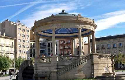 Quiosco de la plaza del Castillo