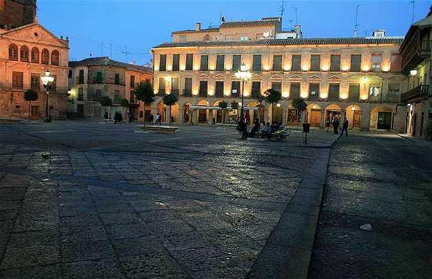 Main Square of Villanueva de Los Infantes