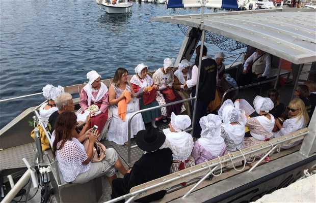 La benediction des bateaux du 15 aout